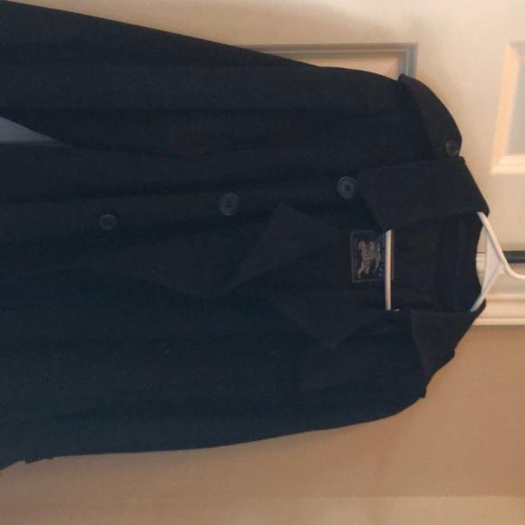 Burberry Jackets & Blazers - Burberry Black Trenchcoat